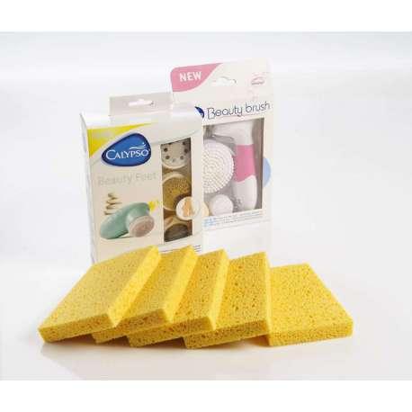 ZESTAW Beauty Brush + Beauty Feet + 5 gąbek celulozowych GRATIS