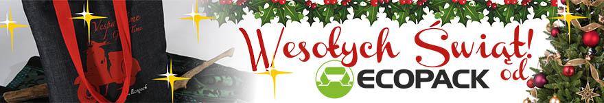 baner świąteczny - Ecopack torby ekologiczne