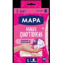 Quotidiens x50, roz. L, rękawice jednorazowe